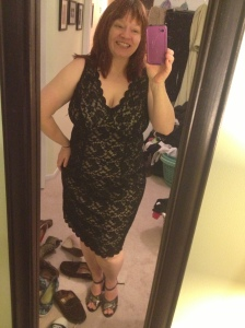 The winner. Disregard the piles of laundry and the shoes. Shoe Whore, remember?