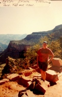 I watched a lizard drink mule urine. The Grand Canyon, Bright Angel Trail 2003