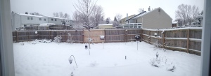 Snow-pocalypse. Spring Break in Ohio.