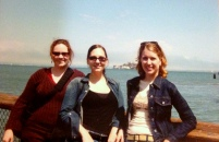 San Francisco 2003 Everyone survived the burrito, no one went to Alcatraz.