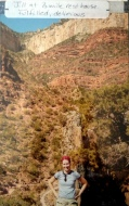 My goal-oriented friend. I don't get her sometimes. Grand Canyon 2003