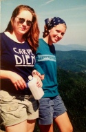 """Oh, yea. I'm gonna """"seize the day"""" and then I'm going tro barf on it. Mt. Osceola, NH 1998"""