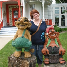 Mount Horeb, WI. Me and a few trolls. I'm the one in the middle. 2009