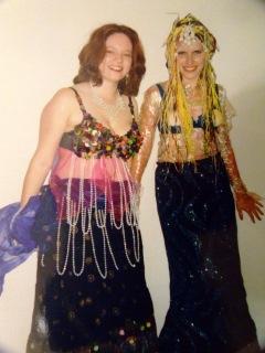 Bellydancer and Mermaid
