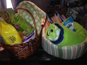 Baskets of kitty love!