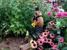 Just a fancy groundhog and armadillo