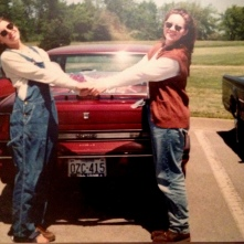 It wasn't just me. All my lady friends had at least one pair of overalls.
