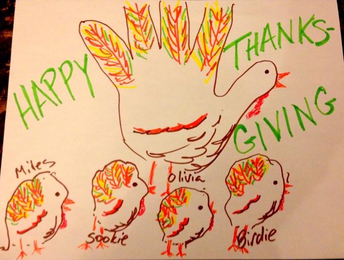 Cat paw turkeys