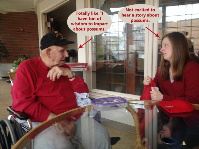 Because you can't tell Gpa to stop telling stories!!
