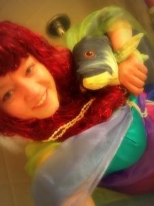 Fishy selfie